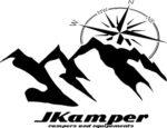 Logo concept JKamper Tente de toit intégrée au hard-top de Jeep Wrangler Unlimited